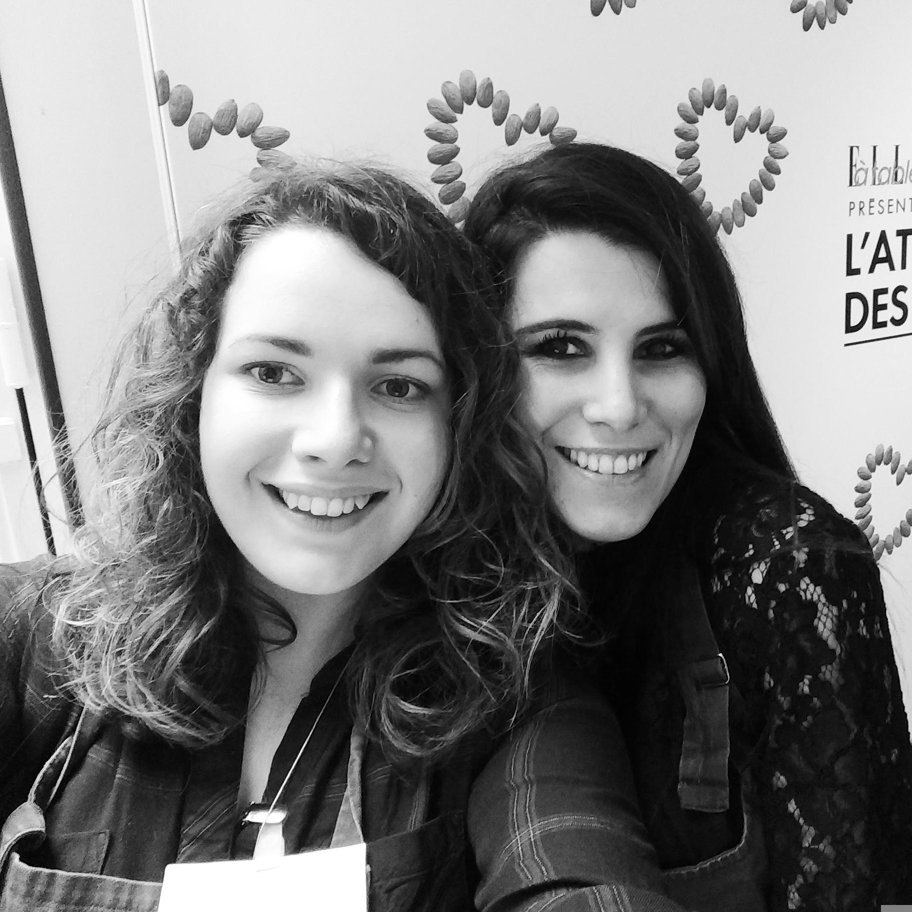 Pause selfie avec Karine Ferri